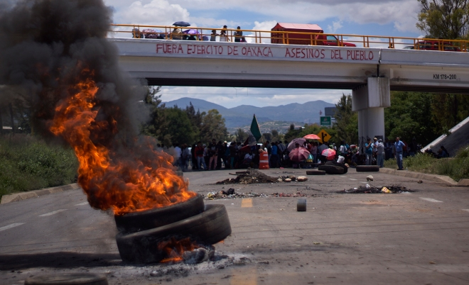 Day 11 of the Nochixtlán blockade.