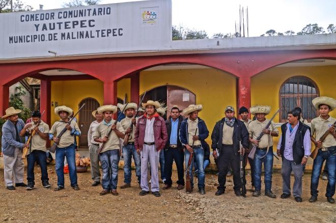 CRSJ-PCP in Alacatlatzan, Guerrero.