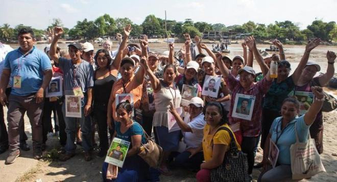 Caravan of Mothers of Disappeared Migrants